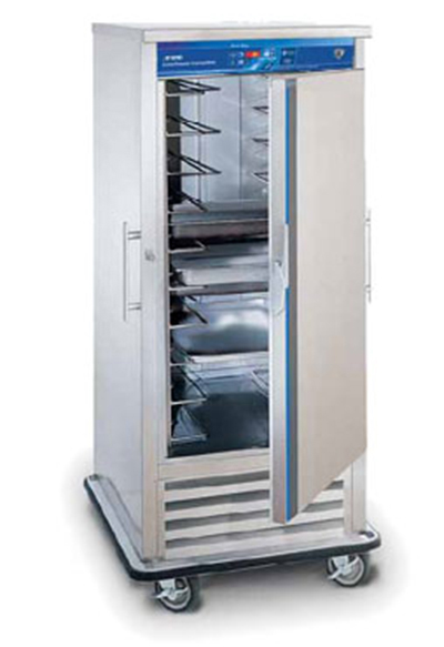 """FWE URFS-10 35"""" One Section Commercial Refrigerator Freezer - Solid Door, Bottom Compressor, 120v"""