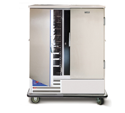 """FWE URS-20 64"""" Two Section Roll-In Refrigerator, (2) Solid Door, 120v"""