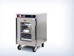 "FWE HLC-2127-9 120 Mobile Heated Holding Cabinet, Half-Height 41.75"", Insulated, Stainless, 120V"