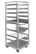 "FWE OTRUA13 26.88""W 13-Sheet Pan Rack w/ 1.5"" Bottom Load Slides"