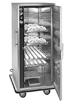 FWE PH182618 Mobile Heater-Proofer Cabinet, Insulated,12-Pair Slide Cap., Stainless, 120V