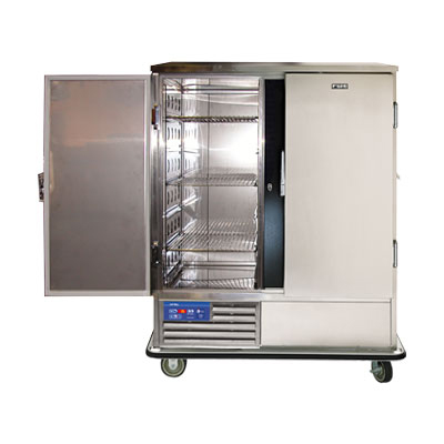 "Fwe - Food Warming Equipment SR-60 57.5"" Two Section Roll-In Refrigerator, (2) Solid Door, 220v"