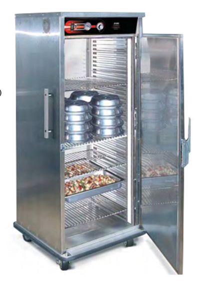 FWE UHST-GN-2432-BQ 120 Universal Banquet Cabinet, 1-Door, 32-Plate Capacity, Wrap Around-Bumper, 120V