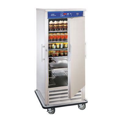 "FWE URS-10 34.5"" Single Section Roll-In Refrigerator, (1) Solid Door, 120v"