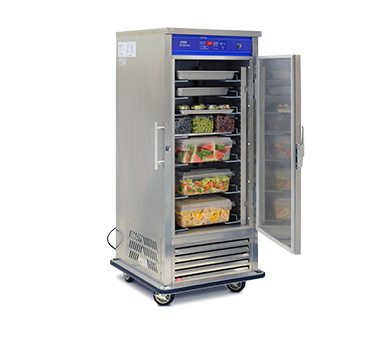"FWE - Food Warming Equipment URS-8 34.5"" Single Section Roll-In Refrigerator, (1) Solid Door, 120v"