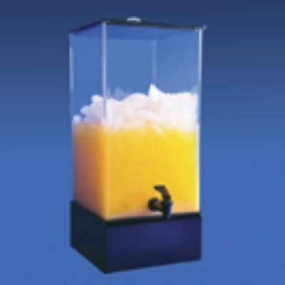Jule-art 880-1855 5-Gallon Simple Drink Dispenser w/ Spout & Riser Base