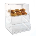 "Jule-art AFC10W Wide Rear Opening Tray Cabinet w/ (3) 10 x 14"" Trays"