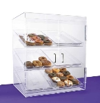 "Jule-art BF6TC Front Opening Bakery Case w/ (6) 13 x 18"" Trays & 2-Hinged Doors"