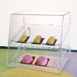 Jule-art DTC10D Tray Cabinet w/ (2) 10 x 14-in Trays, Front & Rear Doors