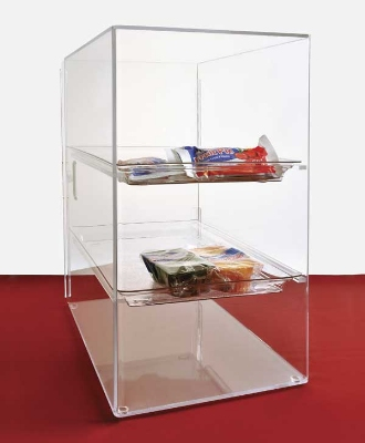"Jule-art SFC10 Tray Cabinet w/ (3) 10 x 14"" Tray & Straight Shelve, Access Door"