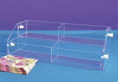 """Jule-art YD Standard Bin System w/ (6) 16 x 2.63 x 4"""" Trays"""