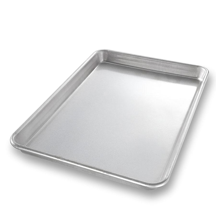 "Chicago Metallic 20700 Glazed Jelly Roll Pan, 9-15/16 x 14.25"", Aluminized Steel"