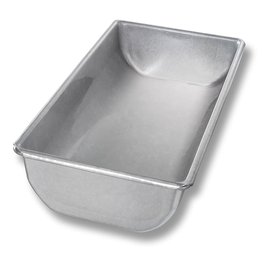 Chicago Metallic 24100 Glazed Hearth Bread Pan, Aluminized Steel, 5-5/8 x 12""