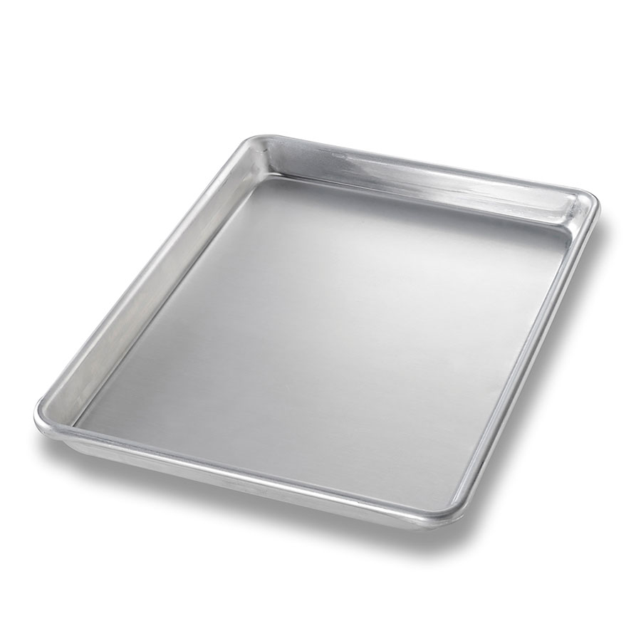 Chicago Metallic 40455 1/4-Size Glazed Sheet Pan, Aluminum
