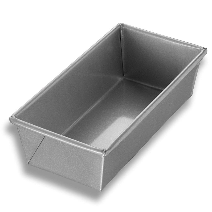"Chicago Metallic 40565 Individual Bread Pan, 9 x 4.5"", Aluminized Steel, Glazed"