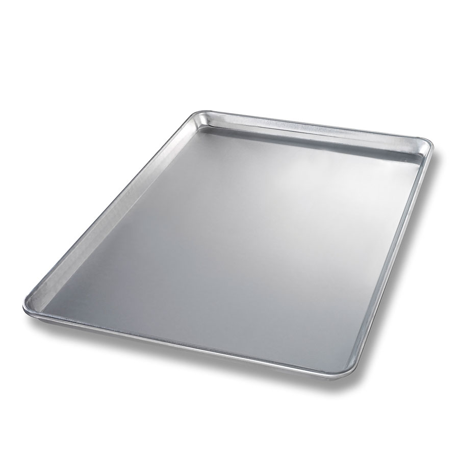 Chicago Metallic 40600 Full-Size Sheet Pan, Aluminum, Semi-Curled Rim