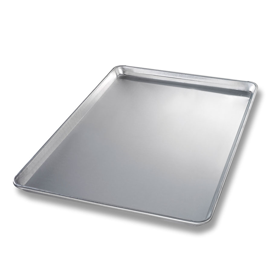 Chicago Metallic 40605 Full-Size Glazed Sheet Pan,  Aluminum, Semi-Curled Rim