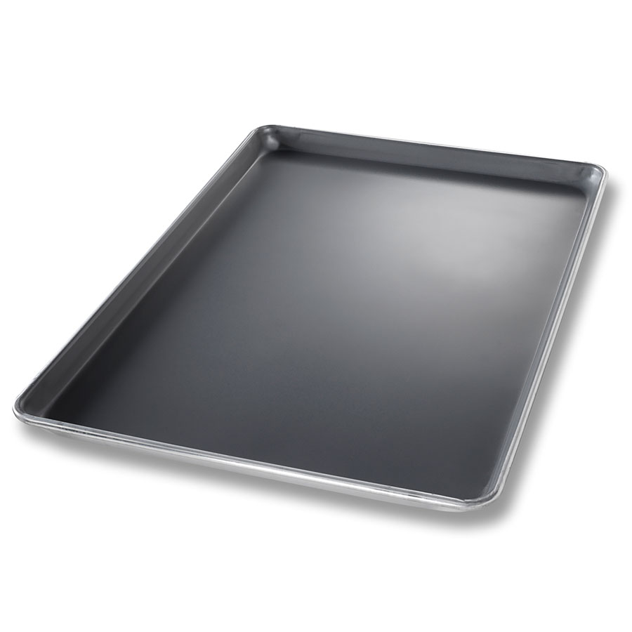 Chicago Metallic 40691 Full-Size Glazed Sheet Pan, Aluminum w/ Durashield