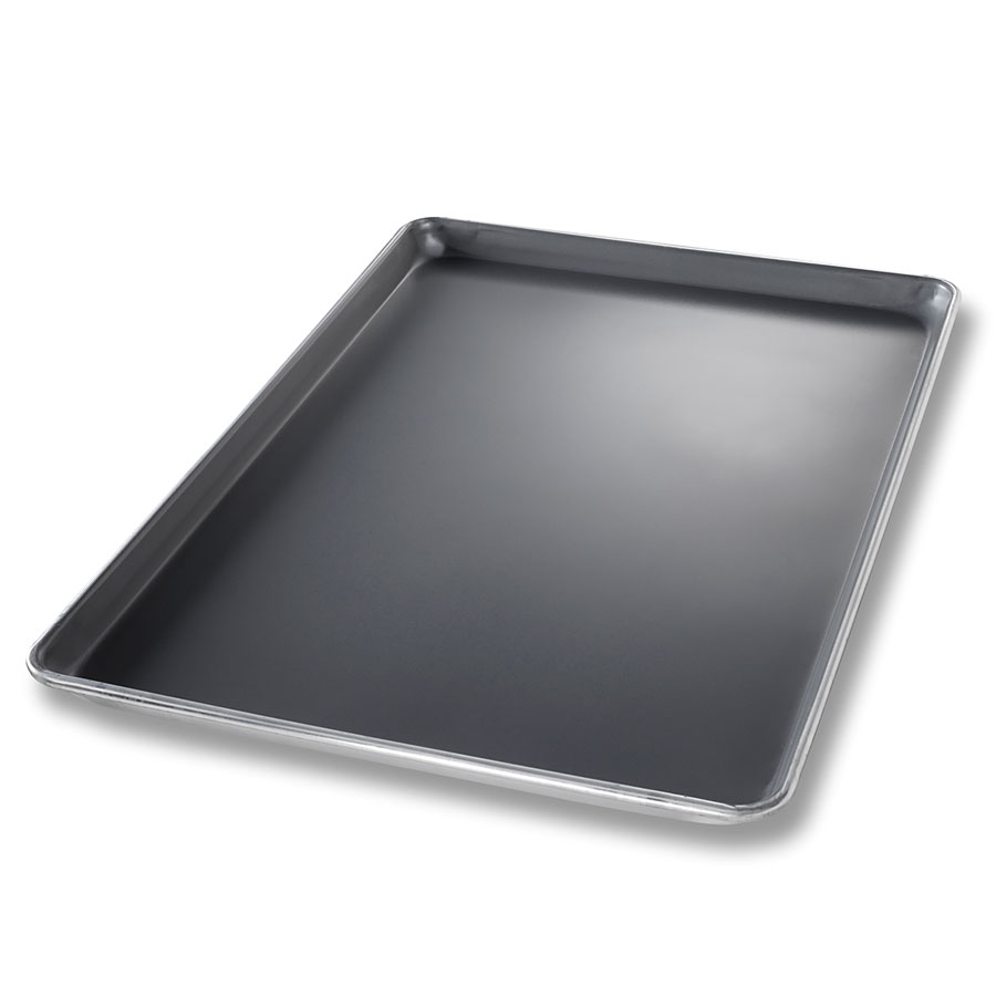 Chicago Metallic 40858 1/2-Size Sheet Pan, Aluminum w/DuraShield