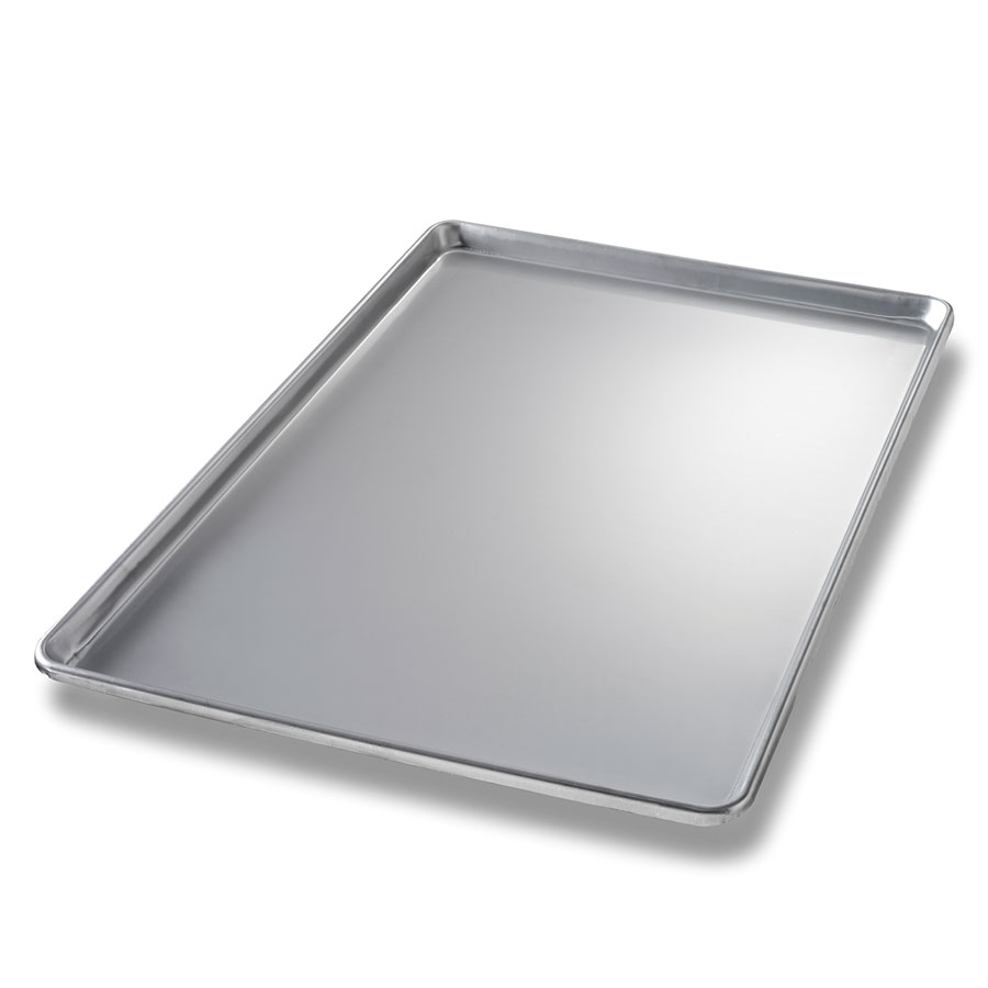Chicago Metallic 40912 Full-Size Display Pan, Anodized Aluminum, Semi-Closed Rim