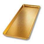 "Chicago Metallic 40920 Display Pan, 9 x 26"", Anodized Aluminum, Gold Finish"