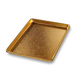 "Chicago Metallic 40940 Display Pan, 9.5 x 13"", Anodized Aluminum, Gold Finish"