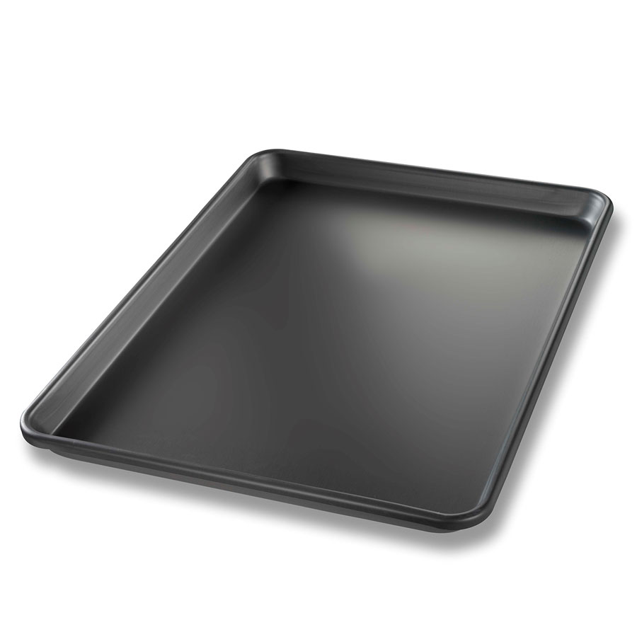 Chicago Metallic 40952 1/2-Size Sheet Pan, Aluminum, Hard Coat Bakalon
