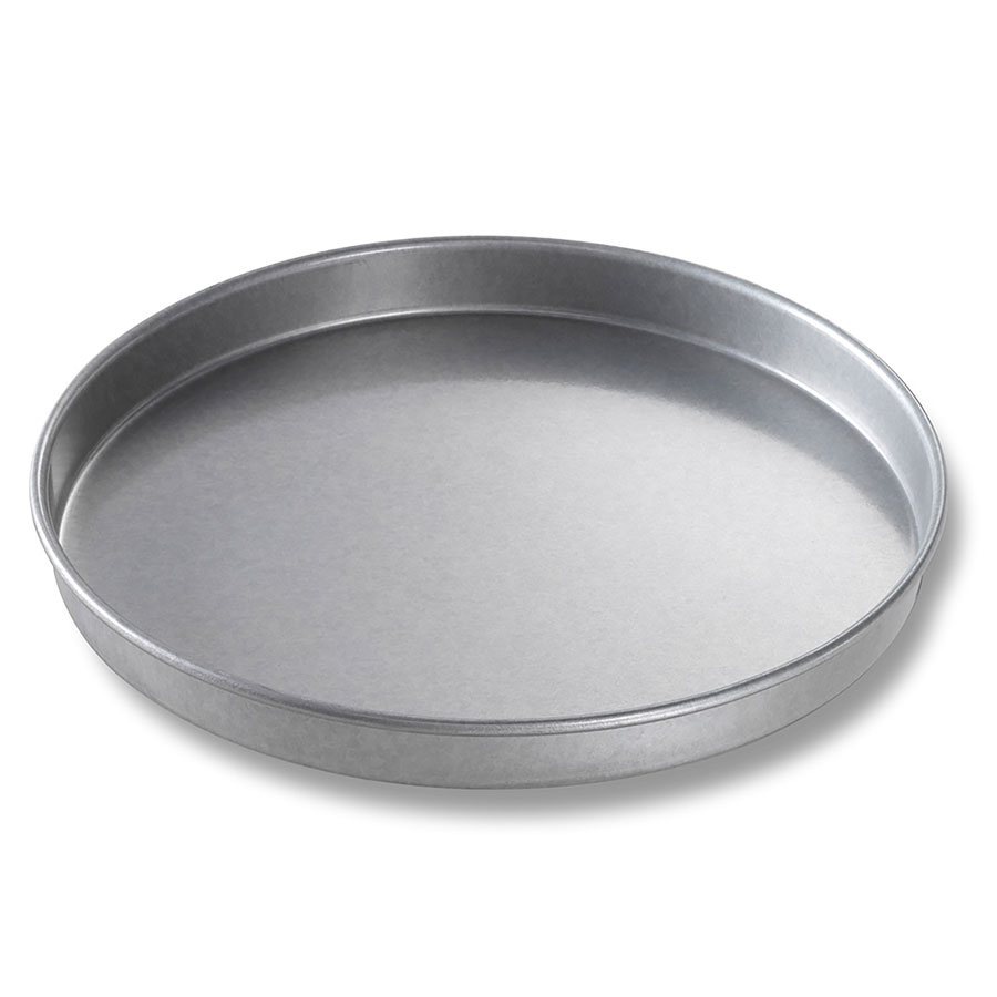 "Chicago Metallic 41018 Round Cake Pan, 10 x  1"", Aluminized Steel"