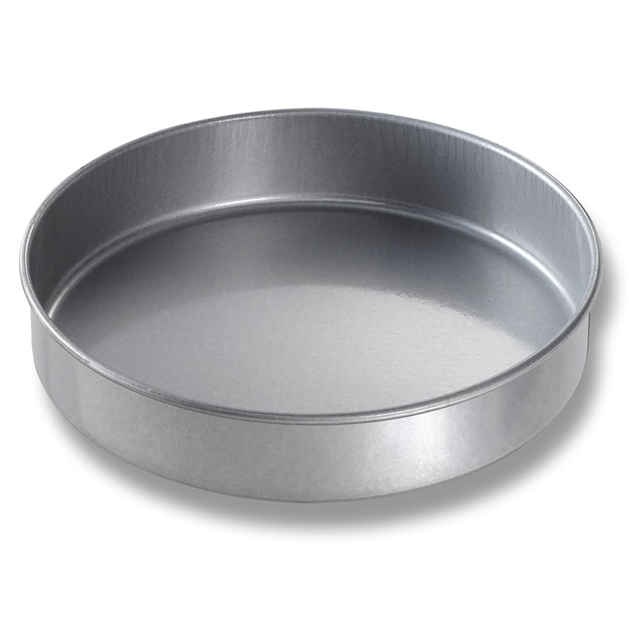 "Chicago Metallic 41020 Round Cake Pan, 10 x 2"",  Aluminized Steel"