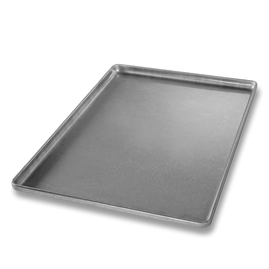 Chicago Metallic 41031 Full-Size Sheet Pan, Aluminized Steel, Band In Rim