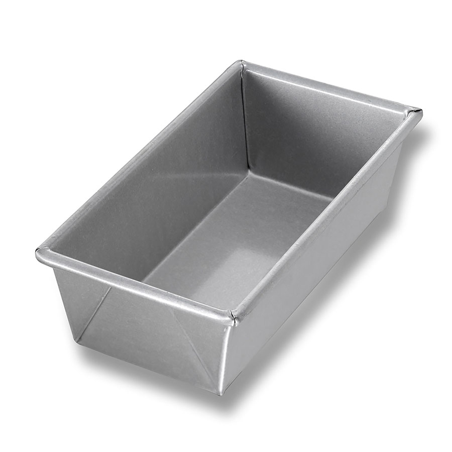 "Chicago Metallic 41065 Glazed Individual Bread Pan, 8"", Aluminized Steel"