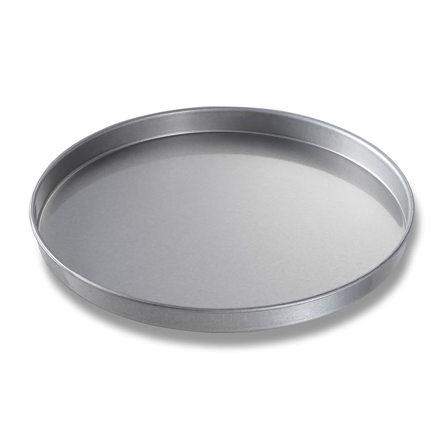 "Chicago Metallic 41400 Glazed Cake Pan, 14 x 1"", Aluminized Steel"