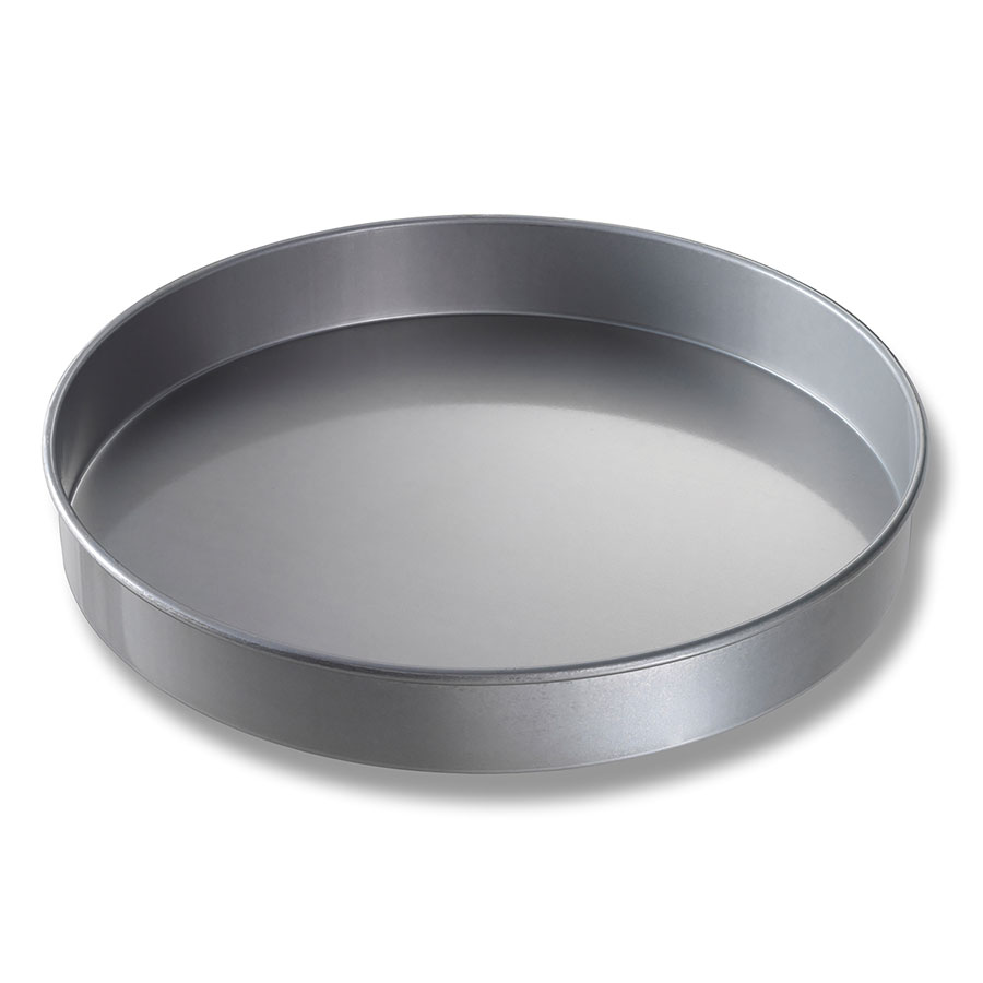 "Chicago Metallic 41425 Glazed Round Cake Pan, 14 x 2"", Aluminized Steel"