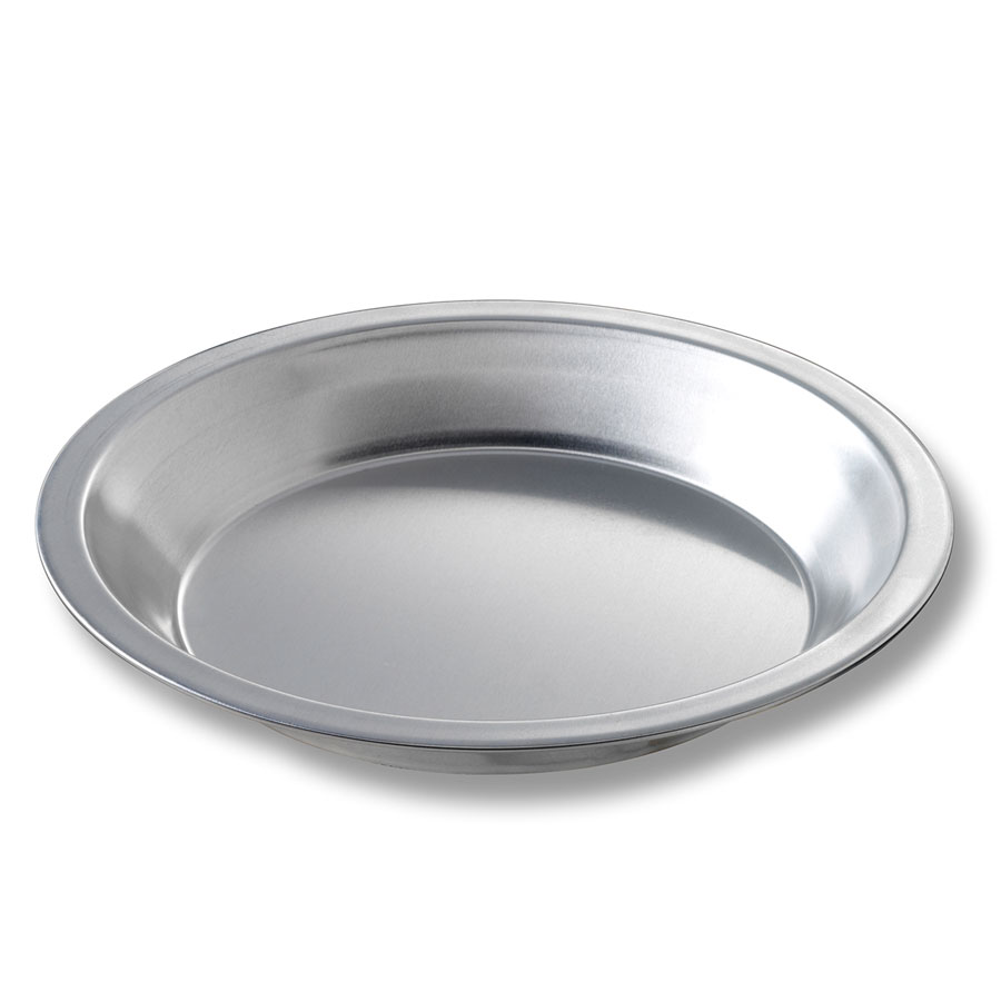 "Chicago Metallic 41509 Pie Plate, 7-15/16 x 1-5/32"", Aluminum"