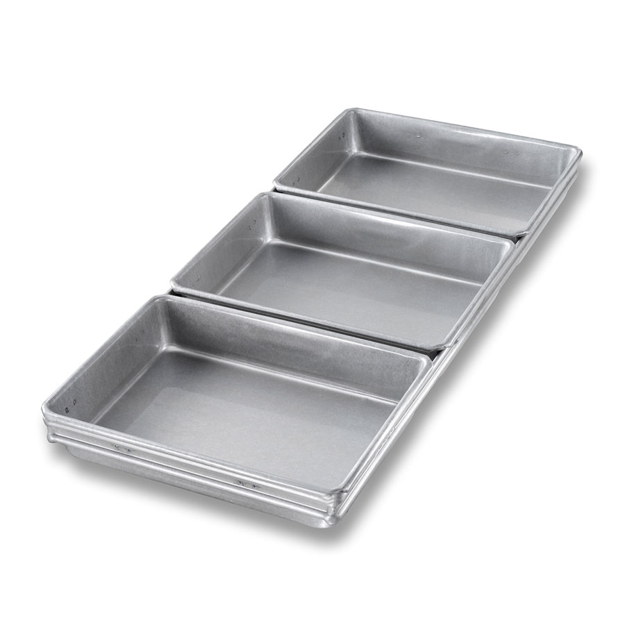 Chicago Metallic 41695 Cinnamon Package Roll Pan Set,  9-7/8 x 22-1/8-in