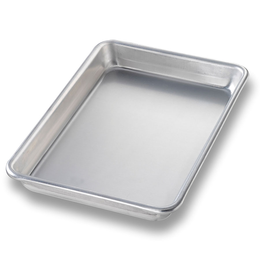 Chicago Metallic 41805 1/8-Size Glazed Sheet Pan, Aluminum