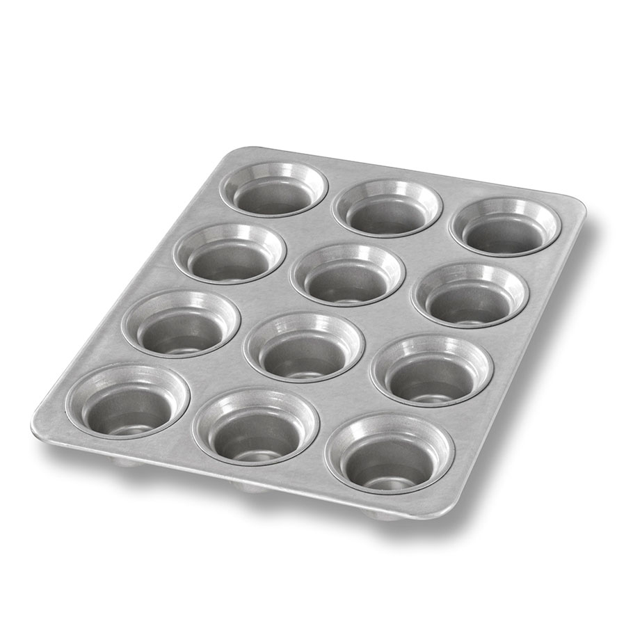 Chicago Metallic 42754 Mini Muffin Pan, Holds (12) 3-oz, Aluminized Steel