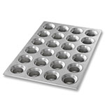 Chicago Metallic 42755 Mini Muffin Pan, Holds (24) 3-oz, Aluminized Steel