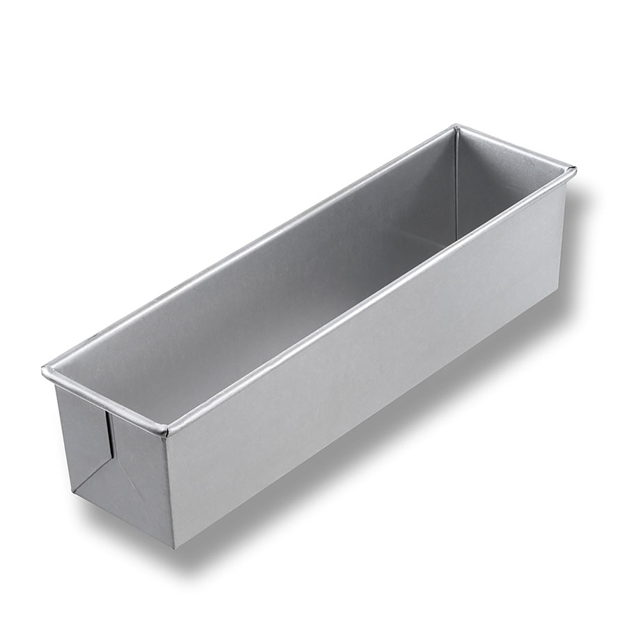 "Chicago Metallic 44650 Glazed Individual Pullman Pan, 16 x 4"", Aluminized Steel"