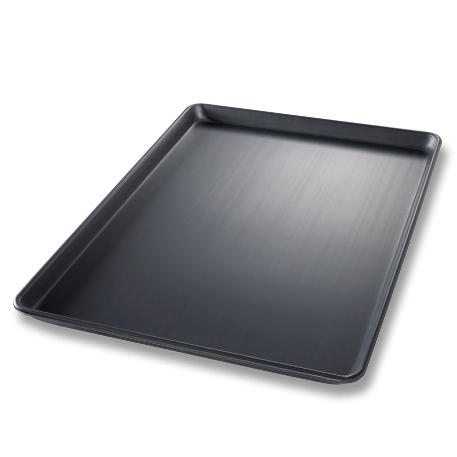 Chicago Metallic 44693 Full-Size Sheet Pan, Wire In Rim, Aluminum, Hard Coat Anodized Bakalon
