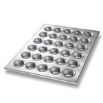 Chicago Metallic 45195 Mini Muffin Pan, (30) 1.1-oz, Aluminized Steel