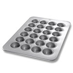 Chicago Metallic 45265 Oversized Texas Muffin Pan, (24) 5.6-oz, Aluminized Steel