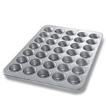 Chicago Metallic 45575 Cupcake Muffin Pan, (35) 3.8-oz, Aluminized Steel