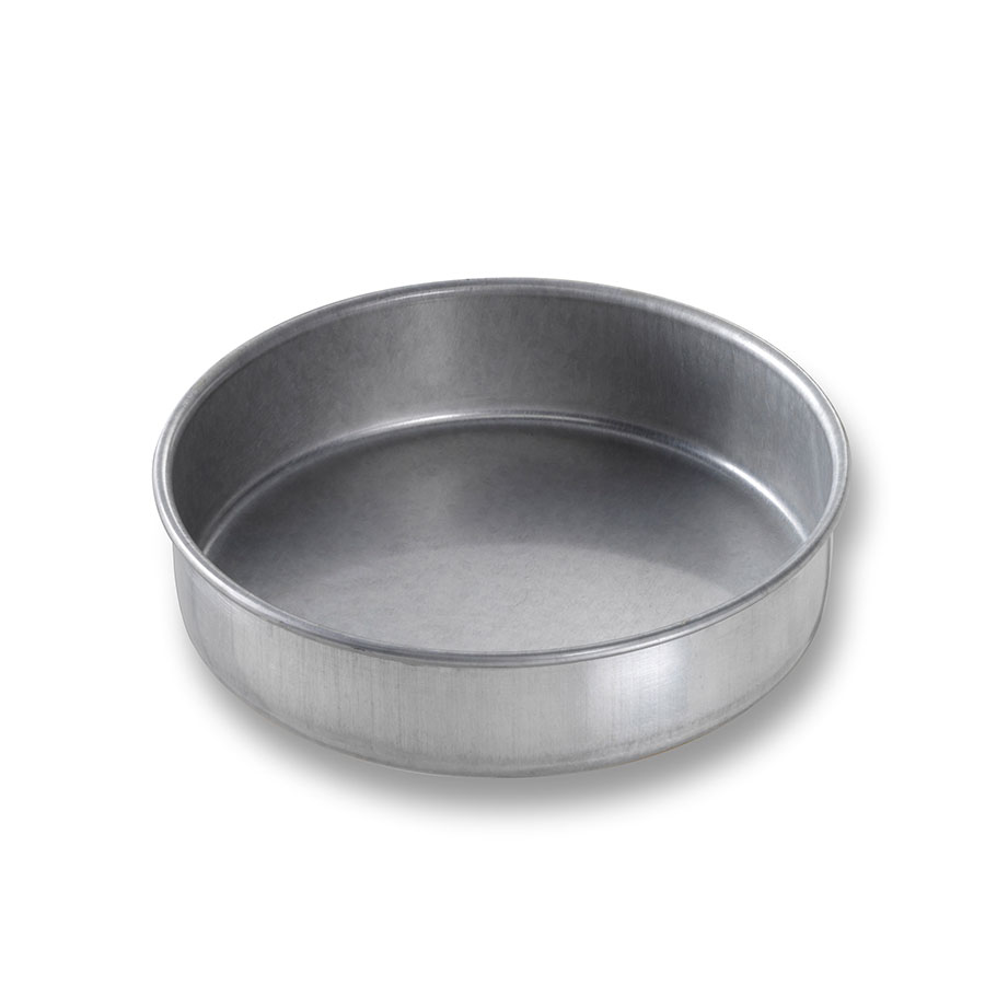 "Chicago Metallic 46155 Glazed Cake Pan, 6 x 1.5"",  Round, Aluminized Steel"