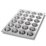 Chicago Metallic 46520 Muffin Cupcake Pan, Holds (24) 3.8-oz, Aluminized Steel