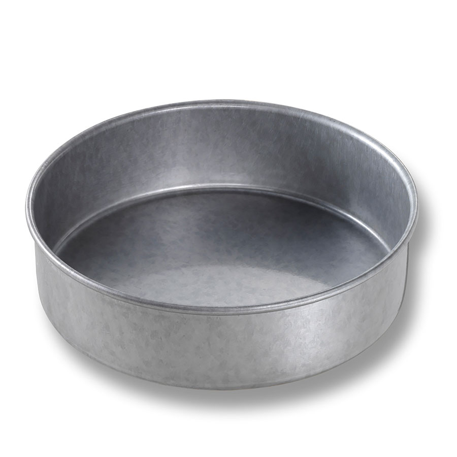 "Chicago Metallic 47020 Round Cake Pan, 7 x 2"", Aluminized Steel"