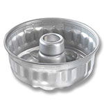 "Chicago Metallic 47645 Glazed Specialty Sand Torte Cake Pan, 7.5 x 3.25"", Aluminum"