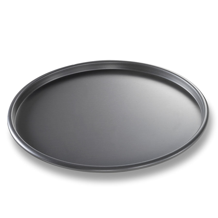 "Chicago Metallic 49100 Thin Crust Pizza Pan, 10 x .5"", Aluminum"