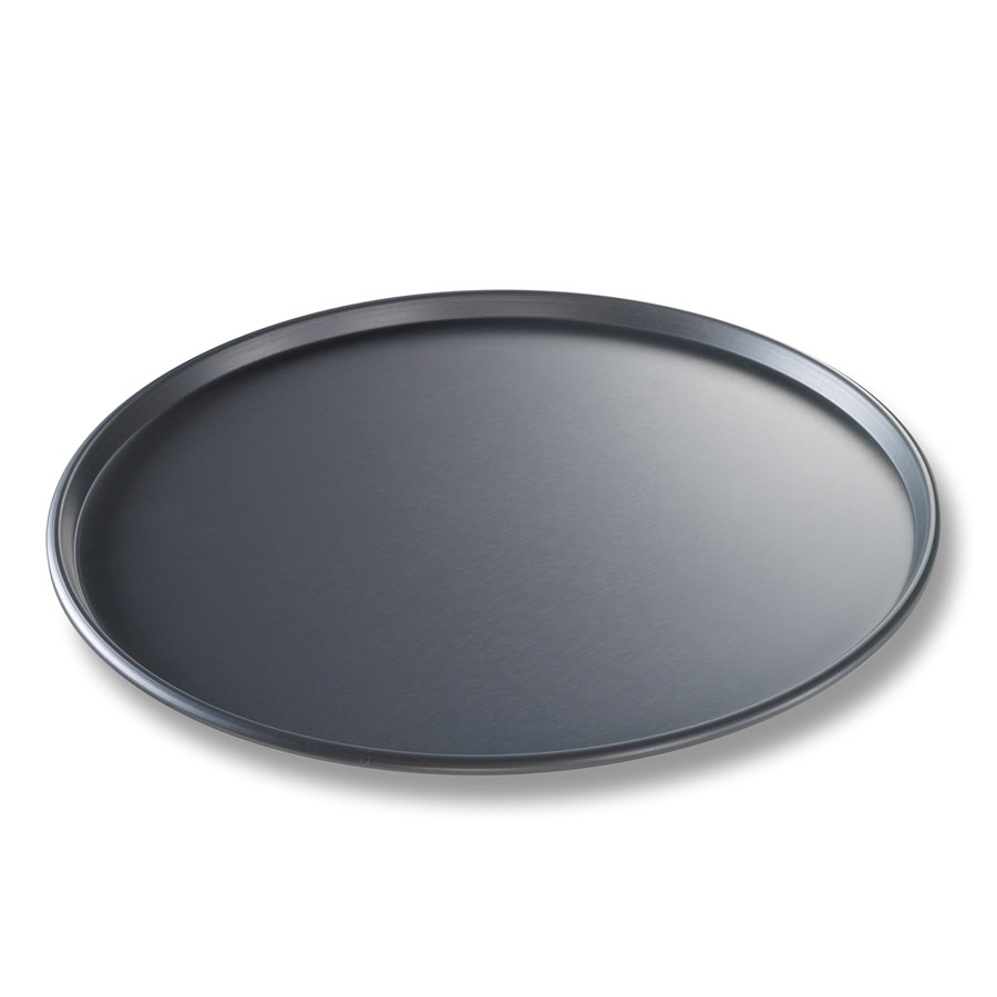 "Chicago Metallic 49120 Thin Crust Pizza Pan, 12 x .5"", Aluminum"