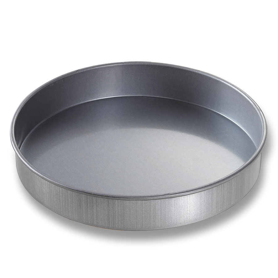 Chicago Metallic 49152 Round Cake Pan, 9 x 1.5-in, Aluminized Steel
